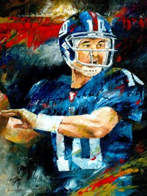 eli manning drawing artwork sketch