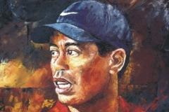 Tiger Woods Portrait