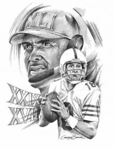 manning colts dungy sketch