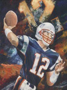 Tom Brady Art Prints for sale