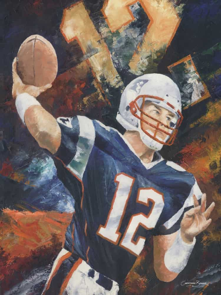 Tom Brady Art Prints for sale