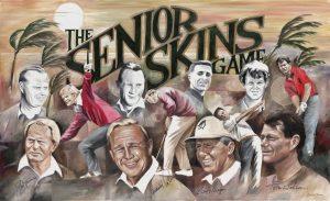 Golf Senior Skin Game painting